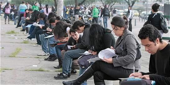 En enero 600.000 colombianos buscaron trabajo y solo la mitad encontró
