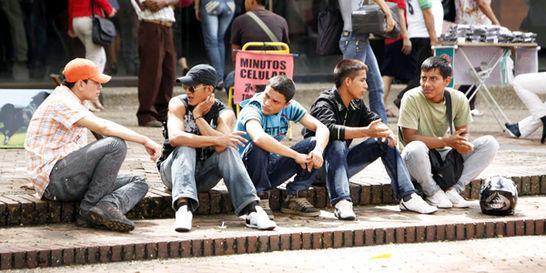La mitad de desempleados en Colombia son jóvenes