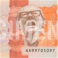 Video: guía para reconocer el nuevo billete de $ 20.000 que ya circula