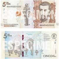 En 12 días sale a circulación nuevo billete de 5.000 pesos