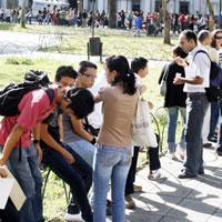 El desempleo juvenil cayó en 0,8 % en el tercer trimestre