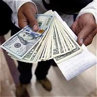 El dólar inicia la semana con salto de $ 45