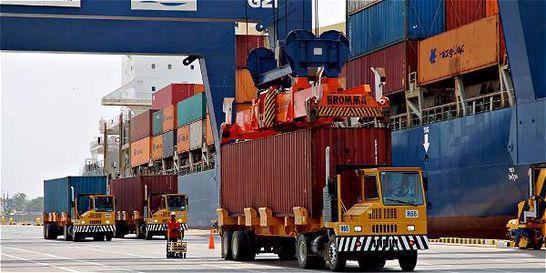 Las exportaciones colombianas de octubre cayeron 3,8 por ciento