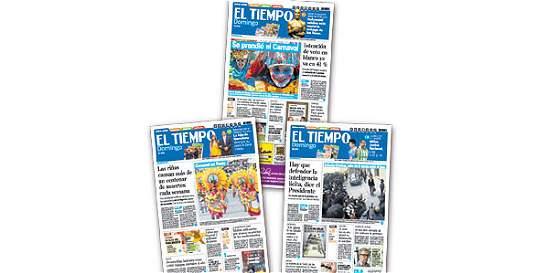 El periódico EL TIEMPO está en el club mundial de mejor impresos