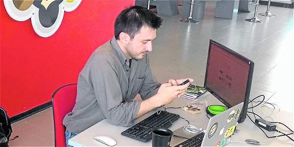 Los emprendimientos de las TIC se destacan.