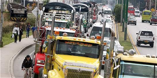 Comenzó el paro parcial de camiones