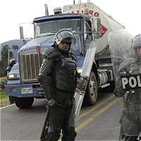 Camioneros regresan hoy a la mesa de negociaciones con el Gobierno