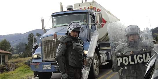 Se levanta el paro de camioneros luego de 23 días