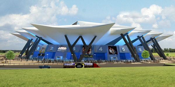Arena Bogotá estará listo para finales del 2016
