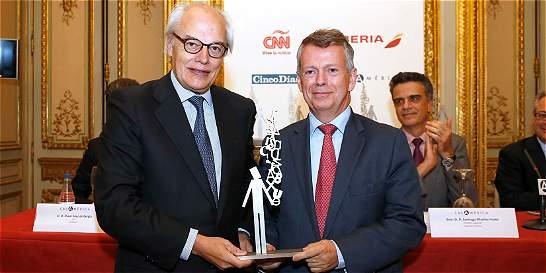 Diario Portafolio recibió premio en España