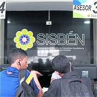 DNP pide revisar 653.000 registros del Sisbén