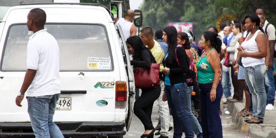 Entre el 30 y 40 % del transporte público en Colombia es ilegal