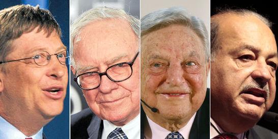 Los diez magnates más generosos del mundo