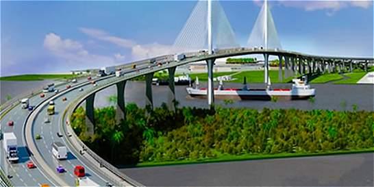 Nuevo puente Pumarejo se construye con un ajuste en diseño geométrico