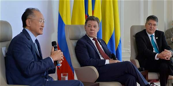 Banco Mundial Si Colombia necesita mas estaremos ahi
