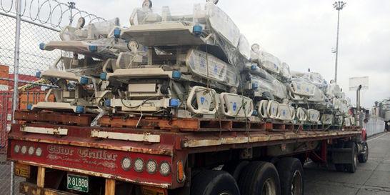 La Dian incauta 60 camas usadas para hospitales