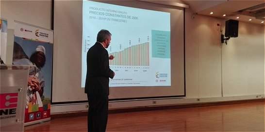 En 2015, la economía colombiana creció un 3,1 por ciento
