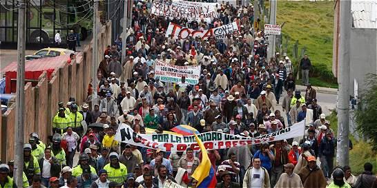 Las 15 peticiones de los sindicatos en el paro nacional