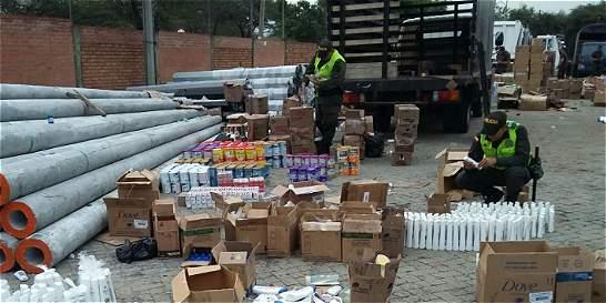 Gobierno anuncia recompensas para combatir el contrabando