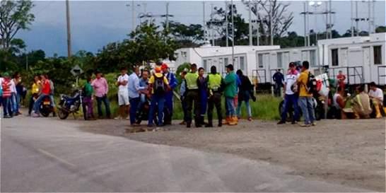 Juntas de acción comunal bloquean trabajos de Ecopetrol