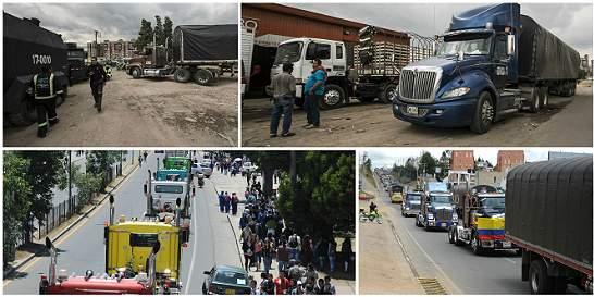 A pesar de las negociaciones, el paro de camioneros se mantiene