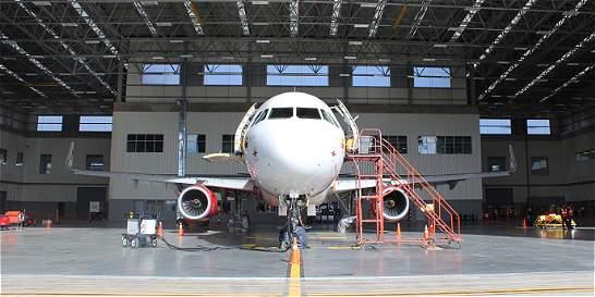 Avianca trasteó sus talleres al complejo aeronaútico nuevo