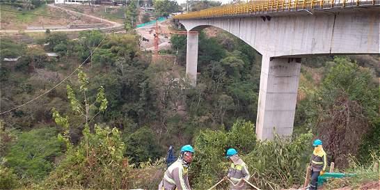 Avanzan los trabajos en la autopista 4G de Ibagué a Cajamarca