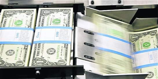 En dos días, el dólar ha caído $ 117