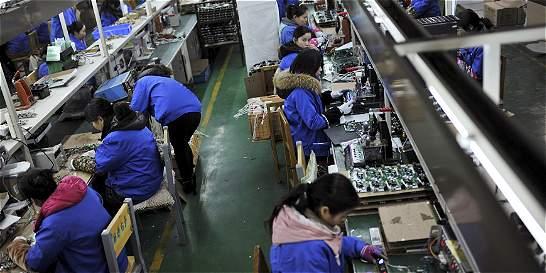 Bajón de la producción industrial en julio
