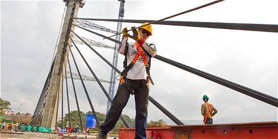 Así están generando empleo las obras de infraestructura