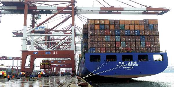 El deterioro del comercio internacional del país se deriva de la debilidad de las economías de sus principales socios comerciales.