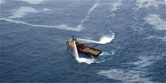 Búsqueda de petróleo en el mar se mueve de nuevo