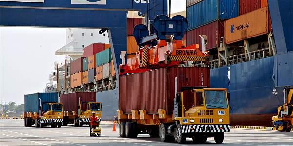 Las exportaciones presentaron un incremento en agosto del 7 por ciento.