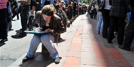 Cifras del desempleo juvenil registraron ligera reducción