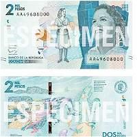 Este es el nuevo billete de 2.000 pesos