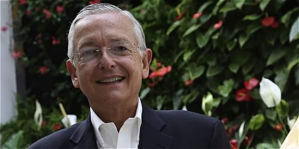 Augusto Solano, presidente del gremio floricultor, Asocolflores.