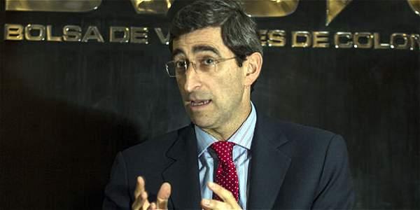 Juan Pablo Córdoba, presidente de la Bolsa de Valores de Colombia.
