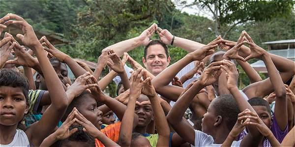 El vicepresidente Germán Vargas Lleras impulsó la creación de los programas de vivienda para los más vulnerables.