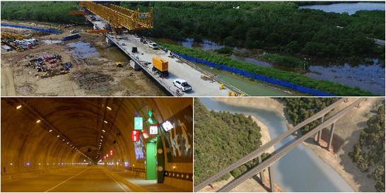 Las tres obras viales que son 'top' de la ingeniería criolla