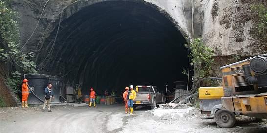 Avance en túnel de La Línea fue 18 por ciento en 20 meses