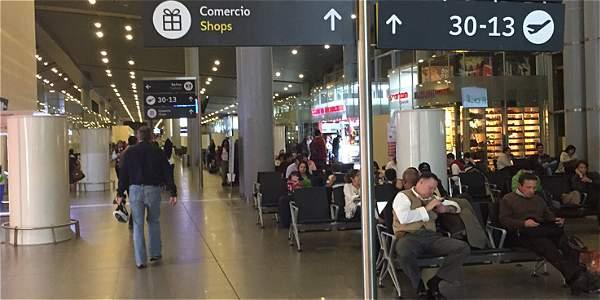 Por el Aeropuerto El Dorado se espera que se movilicen cerca de 377 mil pasajeros entre destinos nacionales e internacionales.