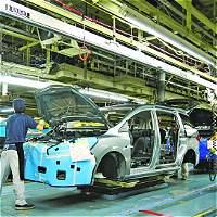 Producción industrial del país y ventas minoristas suben en noviembre