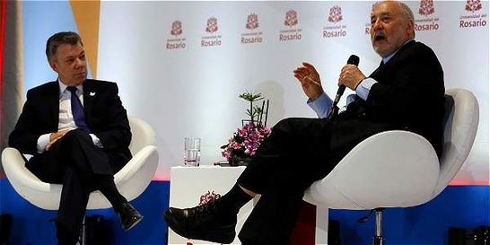 Es necesaria integración de A. Latina para desarrollo: Santos-Stiglitz