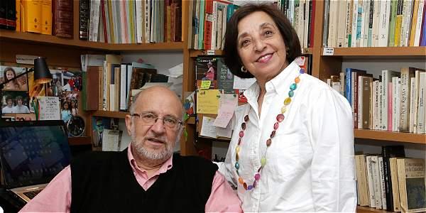Daniel Samper Pizano y Pilar Tafur, autores del libro Cien años de vallenato.