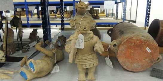 Llegan al país 691 piezas arqueológicas recuperadas