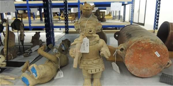 Son 691 piezas arqueológicas que recuperó Colombia luego de que autoridades españolas se las decomisaran a un colombiano.