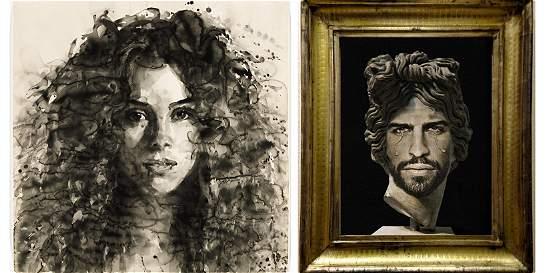 El retrato de Shakira que se vendió por unos 90 millones de pesos