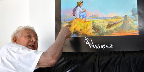 Muri el pintor ram n v squez archivo digital de for Pintor y muralista colombiano