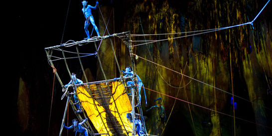 El Cirque du Soleil revive el mundo de 'Avatar'