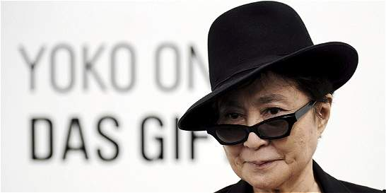 Yoko Ono desembarca en México con muestra artística